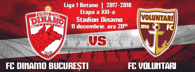 FC Dinamo Bucuresti - FC Voluntari
