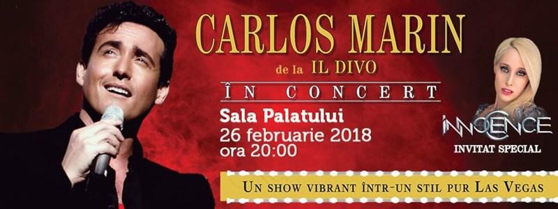 Carlos Marin de la IL DIVO