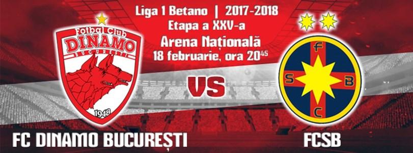 FC Dinamo - FCSB