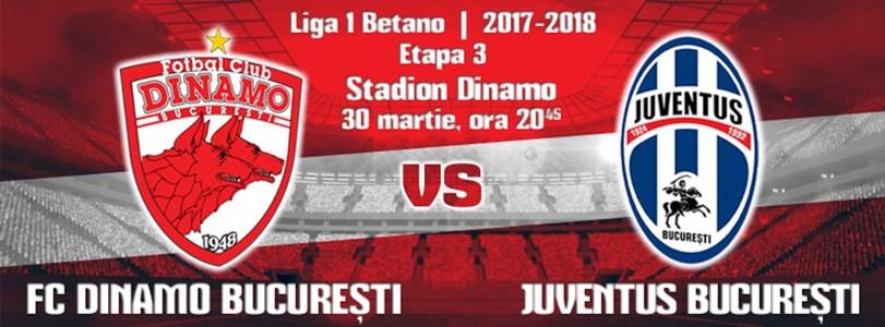 FC Dinamo - Juventus Bucuresti