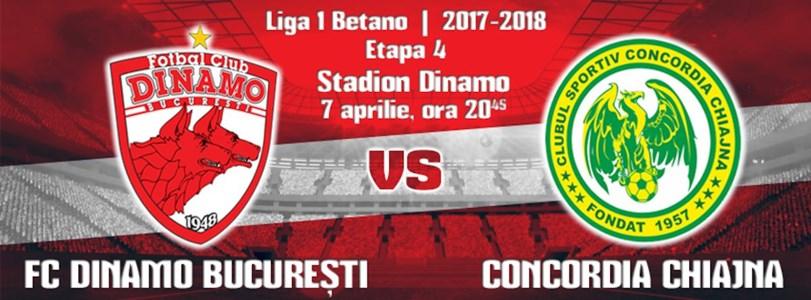 FC Dinamo - Concordia Chiajna