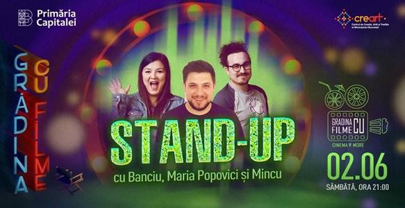 Stand - up comedy cu Banciu, Maria Popovici si Mincu