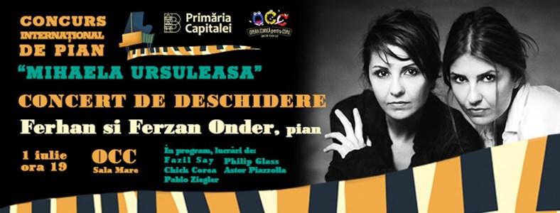 Concert Extraordinar in deschiderea Concursului International de Pian 'Mihaela Ursuleasa'