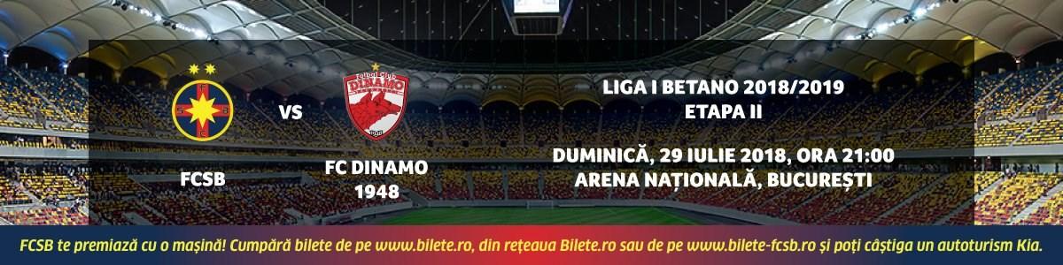 FCSB vs FC Dinamo