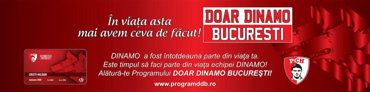 Program Doar Dinamo Bucuresti