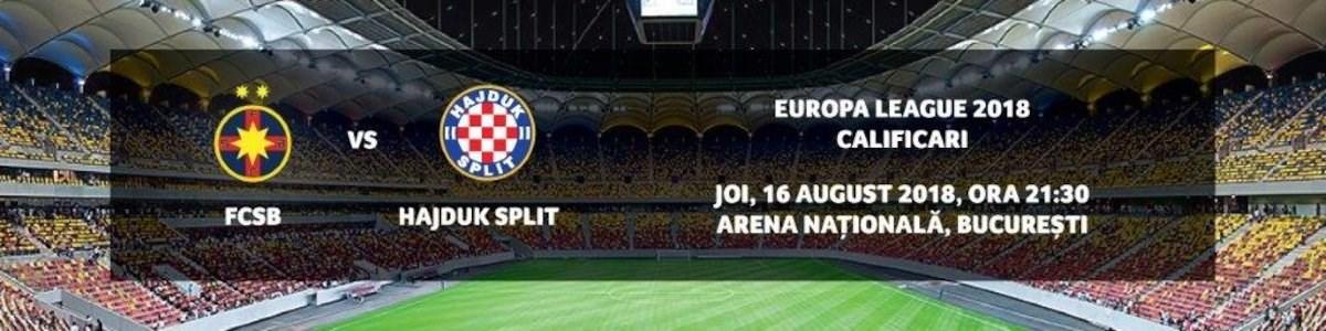 FCSB - Hajduk Split
