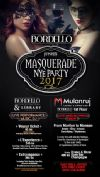 Bilete la Bordello presents Masquerade NYE Party 2017