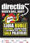 Detalii despre evenimentul Directia 5 - Rock'n Roll, Baby!- 31 Oct 2014