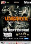 Detalii despre evenimentul UNEARTH, Diamonds Are Forever si Rock N Ghena - 15 Sept 2014