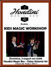 Detalii despre evenimentul Houdini Magic Bar - Kids Magic Workshop - 24 Aug 2014
