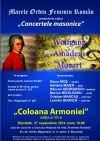 Detalii despre evenimentul Concertele masonice - Coloana Armoniei- 27 Sept 2014
