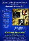 Detalii despre evenimentul Concertele masonice - Coloana Armoniei- 25 Oct 2014