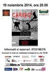 Detalii despre evenimentul Carnage - 09 Nov 2014