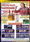 Detalii despre evenimentul Festivalul National - IN MEMORIAM GICA PETRESCU - Asta seara nimeni sa nu doarma 06 Mai 2015