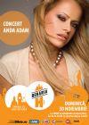 Detalii despre evenimentul Concert Anda Adam - 30 Nov 2014