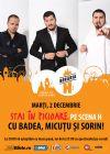 Detalii despre evenimentul Stai In Picioare Pe Scena H - Stand Up Comedy Show - 02 Dec 2014