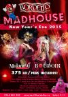 Bilete la Let's Party Bordello Style!New Year's Eve Burlesque - MADHOUSE PARTY 2015