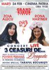 Bilete la Trei ceasuri de... dragoste - 24 Feb 2015