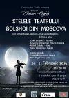 Bilete la Stelele Teatrului Bolshoi - Classic Nights - 21 Feb 2015