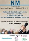 Bilete la Network Marketing Forum - 28 Mart 2015
