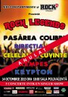 Bilete la Rock Legends - 17 Apr 2015 REPROGRAMAT 14 Oct 2015