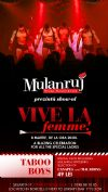 Bilete la Bordello's Mulanruj - Vive la Femme - 08 Mart 2015