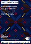 Bilete la Jazzaj la arcub: concert live Evening in Romania - 25 Apr 2015