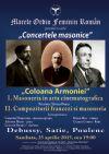 Bilete la Concertele masonice - Coloana Armoniei - 25 Apr 2015