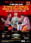 Bilete la Stand up comedy, magie si ventrilocie - 13 Mai 2015