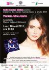 Bilete la Interpreta discului de muzica clasica al anului 2014 -ALINA AZARIO