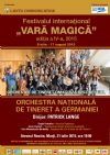 Bilete la Festivalul International Vara magica - Orchestra Nationala de Tineret a Germaniei 21 Iul 2015