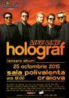 Bilete la Holograf - Craiova 25 Oct 2015