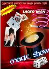 Bilete la Magic Show - Premiera: numar inedit LASER MAN - 25 Oct 2015