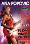 Bilete la Ana Popovic - 19 Dec 2015