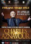 Bilete la Charles Aznavour - One night only 20 Feb 2016