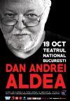 Bilete la Dan Andrei Aldea - concert extraordinar - 19 Oct 2015