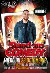 Bilete la Stand Up Comedy cu Andrei Ciobanu - 28 Oct 2015