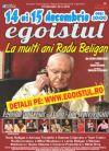 Bilete la Egoistul - La Multi Ani, Radu Beligan!- Spectacol Aniversar- 11 ani - 300 reprezentatii - 15 Dec 2015