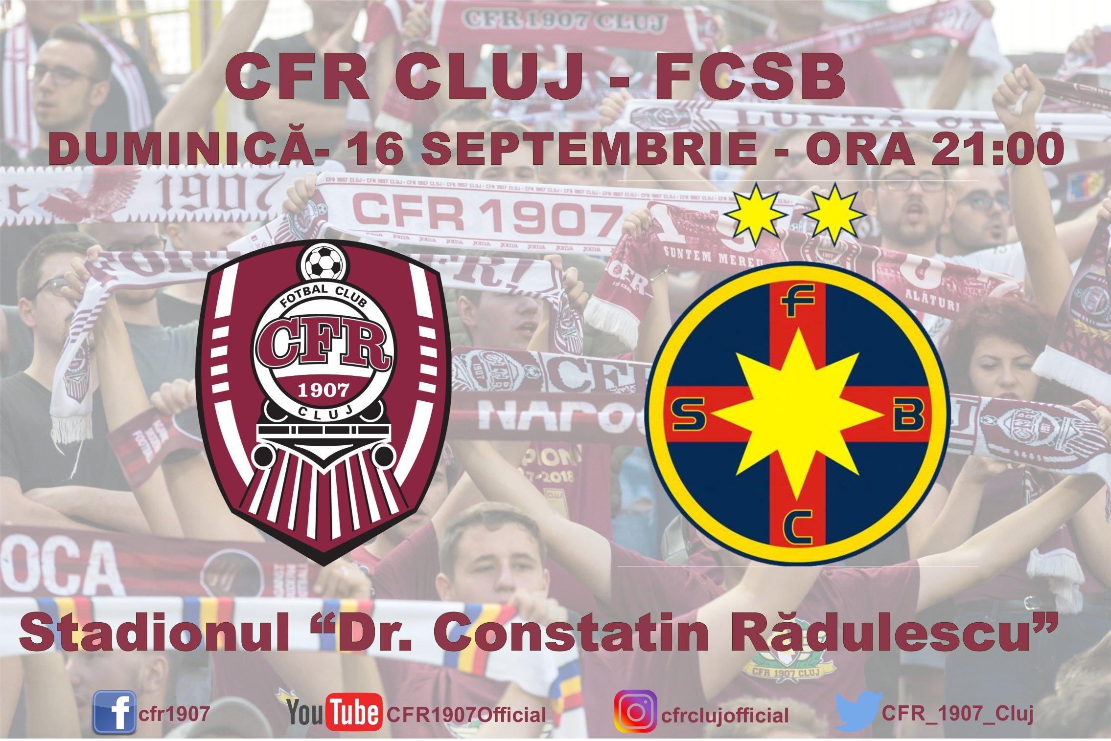FCSB - CFR Cluj 18 iulie 2020. Arbitru controversat la...  |Fcsb- Cfr Cluj
