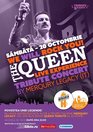We Will Rock You! - The QUEEN Live Experience by Merqury Legacy [IT]