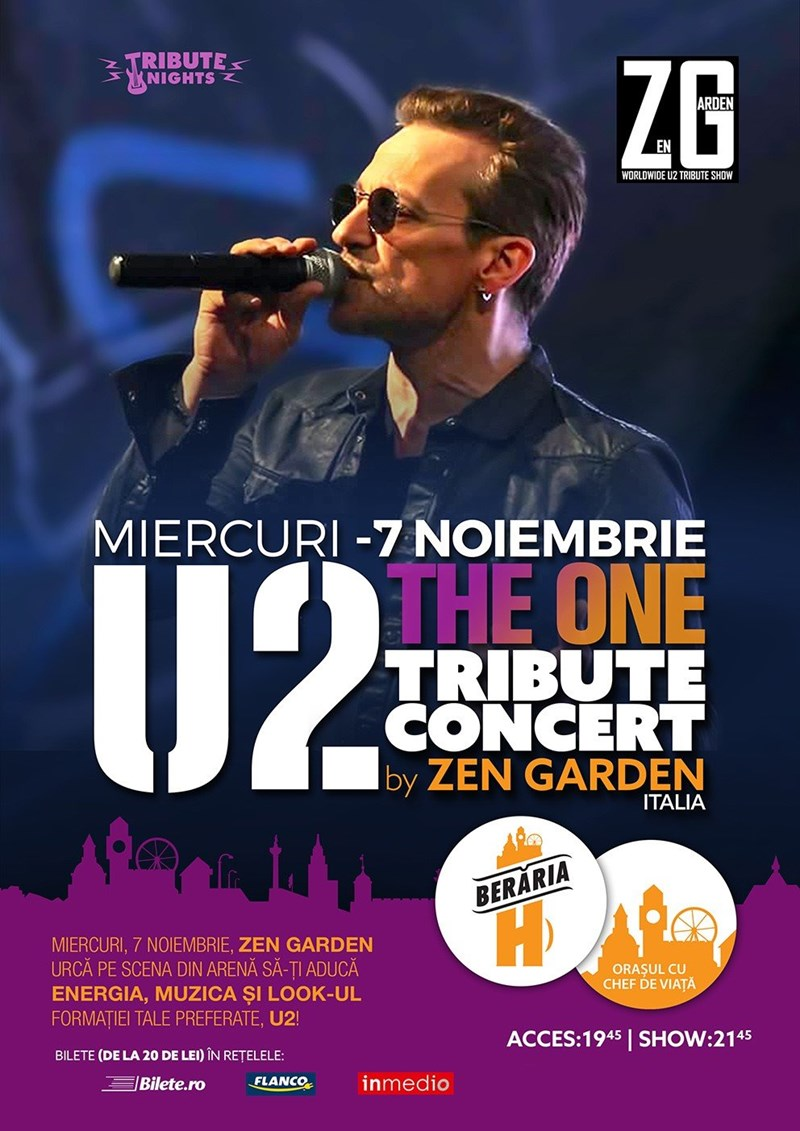 The One: U2 Tribute Concert by Zen Garden [Italia]