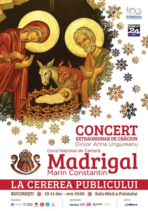 Concert extraordinar de Craciun Corul National de Camera Madrigal - Marin Constantin