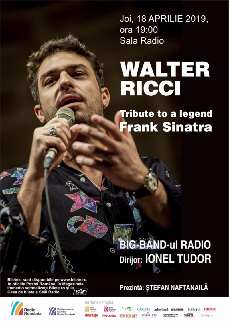 bilete Walter Ricci - Big Band Radio - Tribute To A Legend: Frank Sinatra