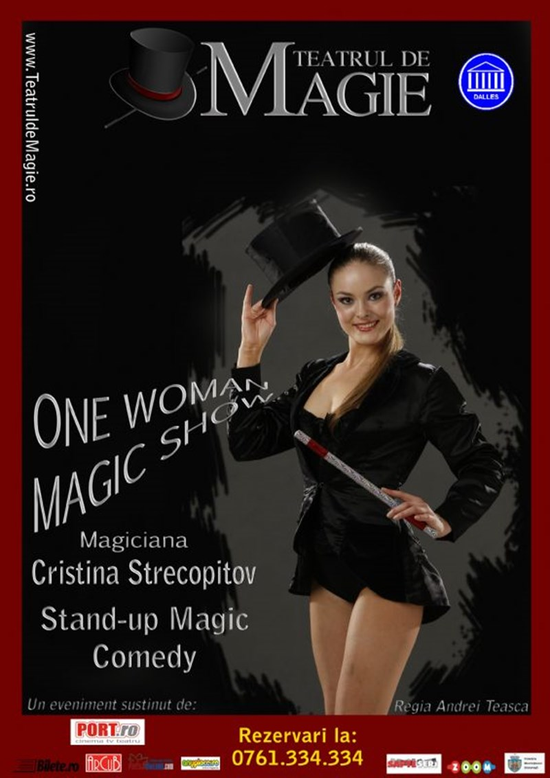 One Woman Magic Show