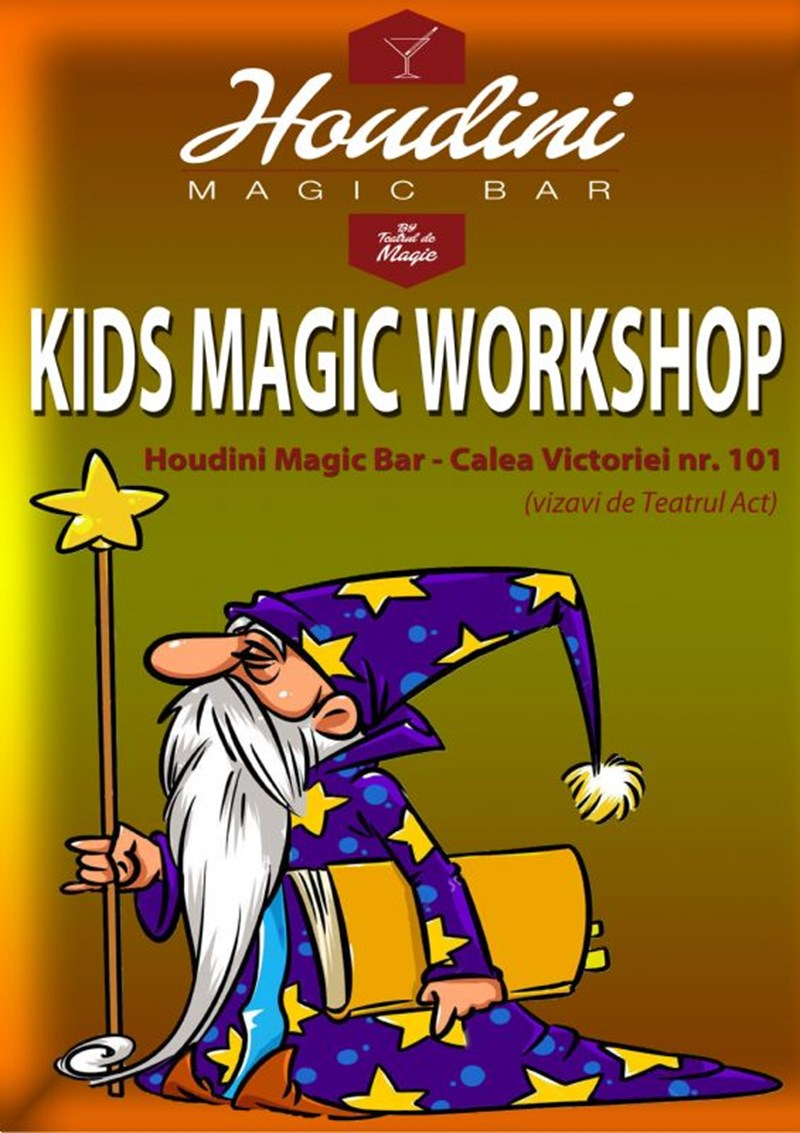 Houdini Magic Bar - Kids Magic Workshop