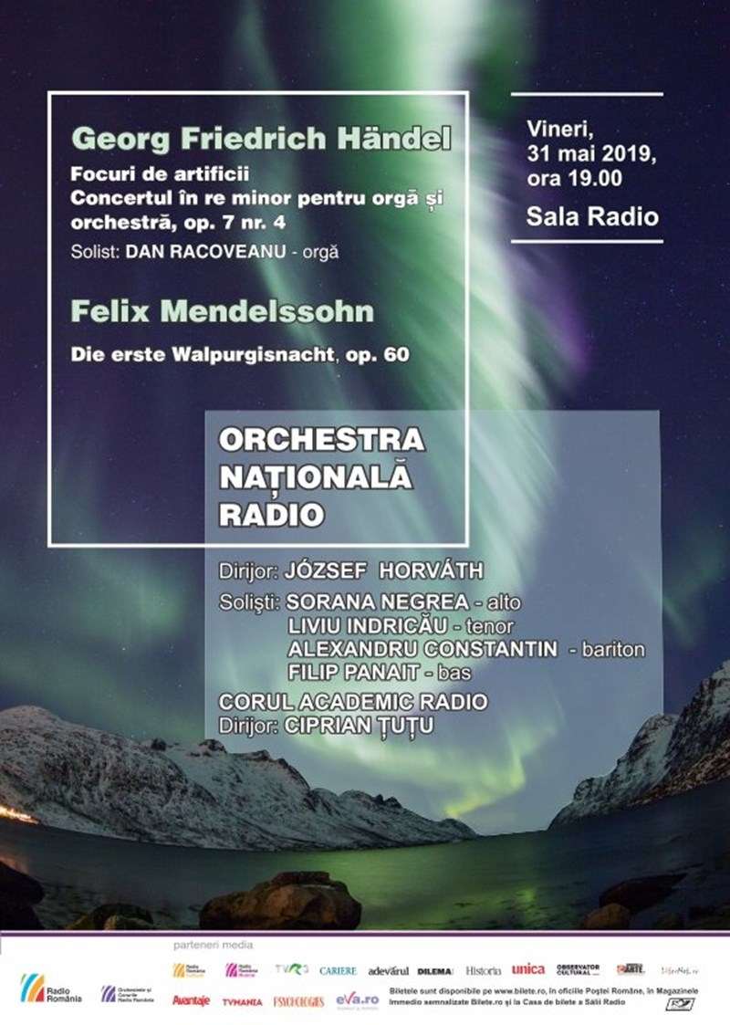 bilete Orchestra Nationala Radio - Orga in Concert