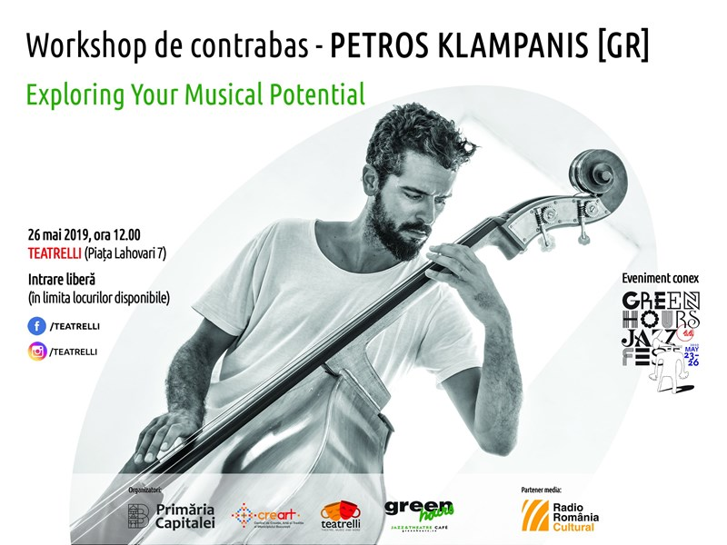 Petros Klampanis - Workshop de contrabas