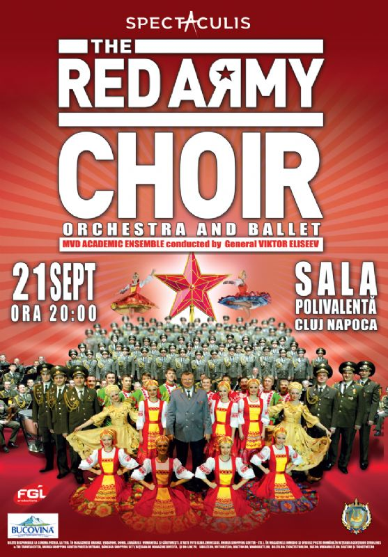 The Red Army Choir - Corul Armatei Rosii