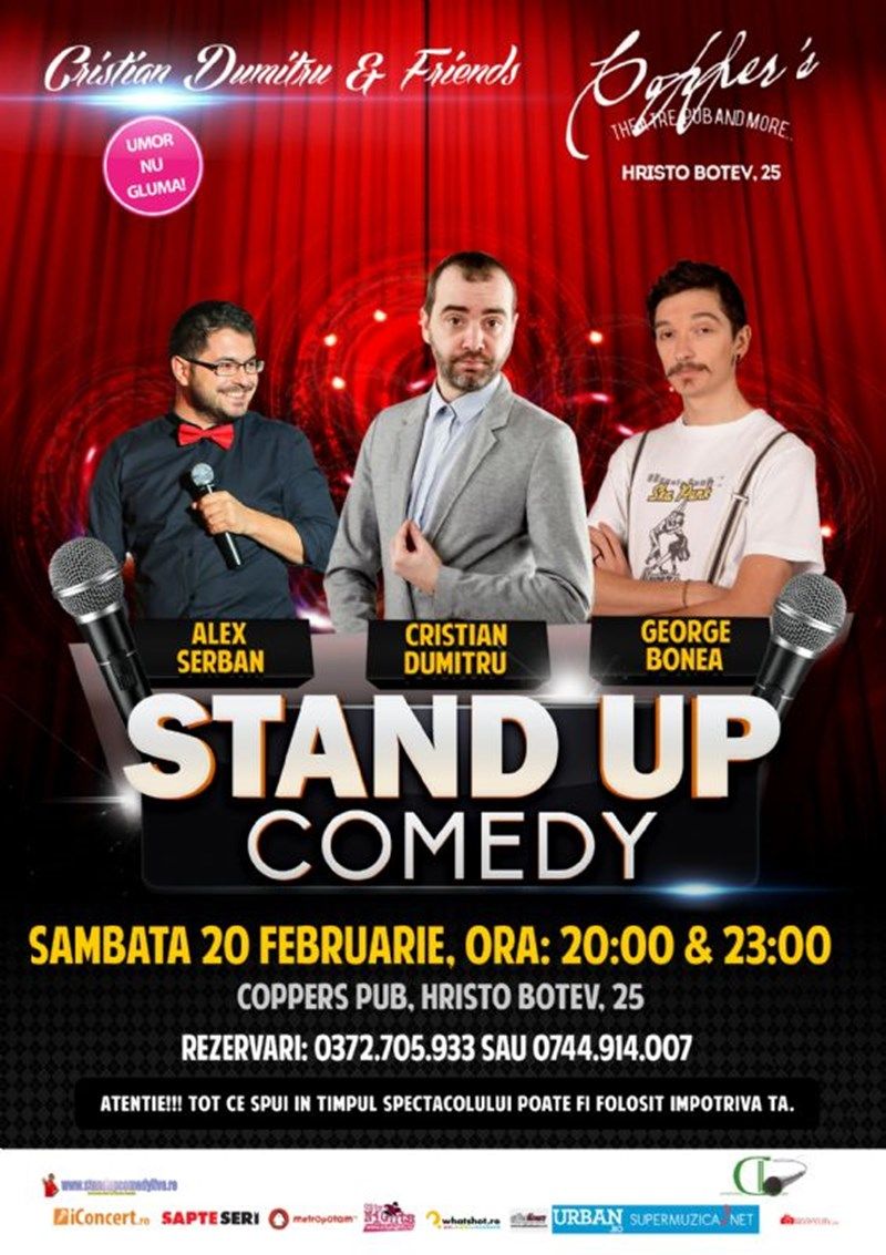 Stand-up Comedy Night@Copper's Pub