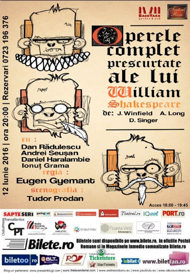 Operele complet prescurtate ale lui William Shakespeare